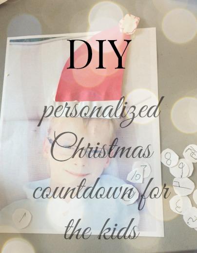 How to make an adorable Christmas countdown