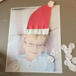 DIY Personalized Christmas countdown