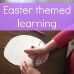 Easter learning activity