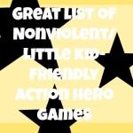 Nonviolent games for boys