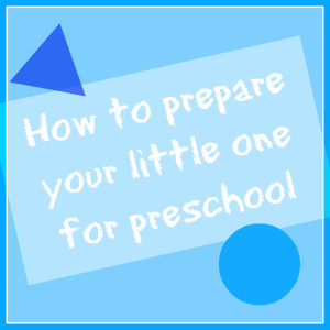 prepare for preschool