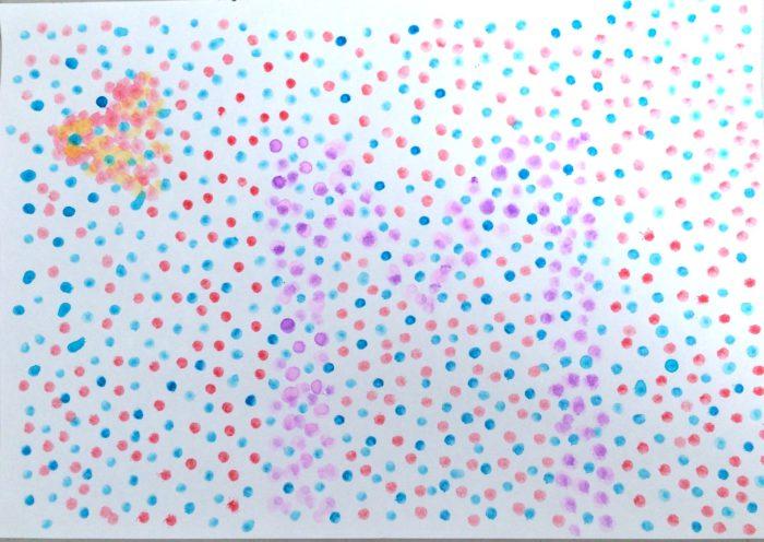 pointillism picture