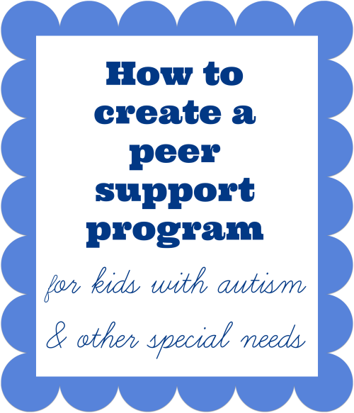 how to create a peer support program