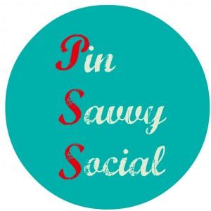 pin savvy social logo