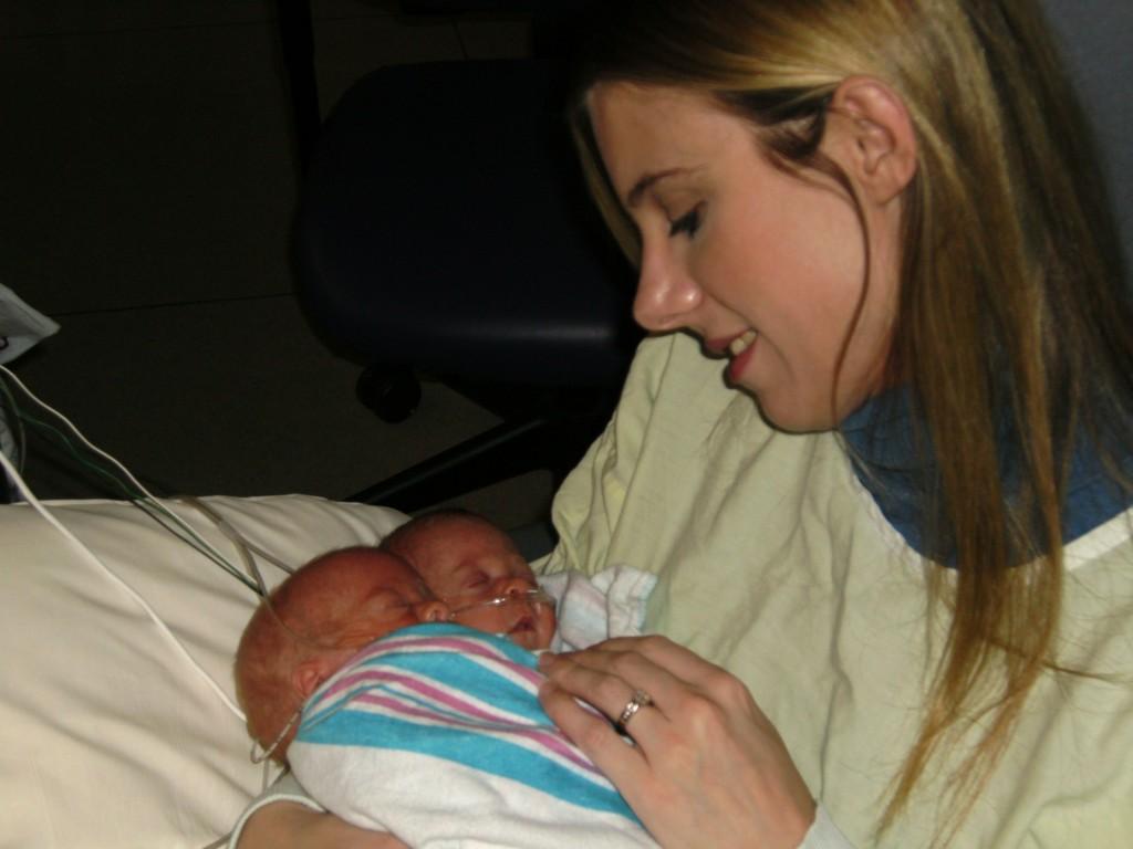 holding preemies