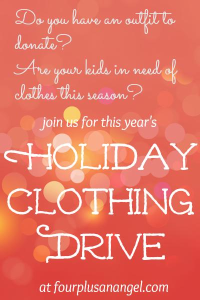 holiday clothing drive