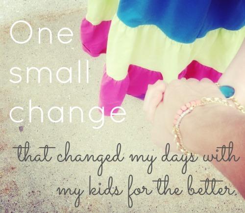 parenting change