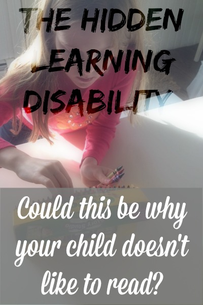 hidden learning disability