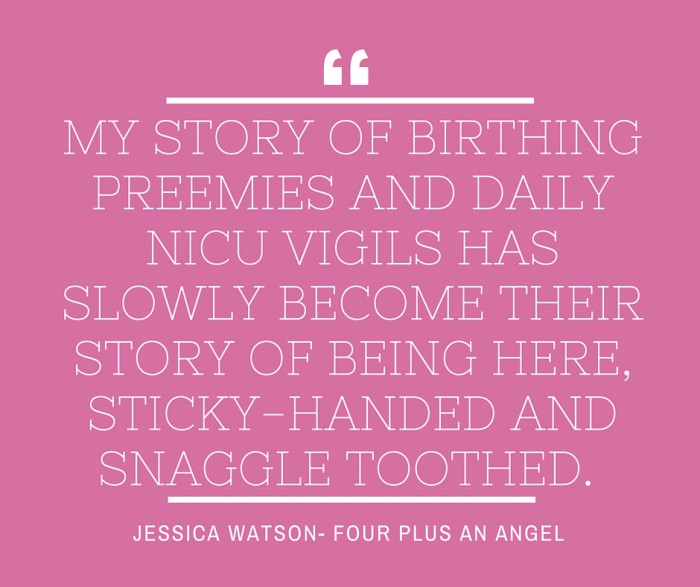 sharing the story of your preemies birth