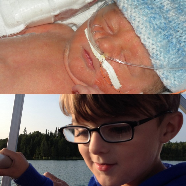 Sawyer preemie pictures