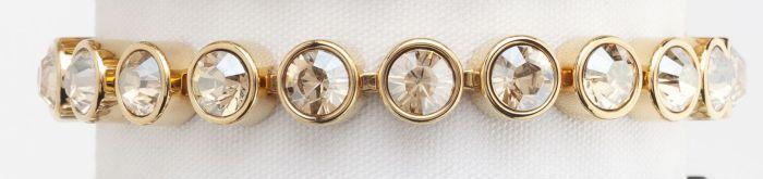 golden ice bracelet