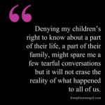 Talking to children about grief