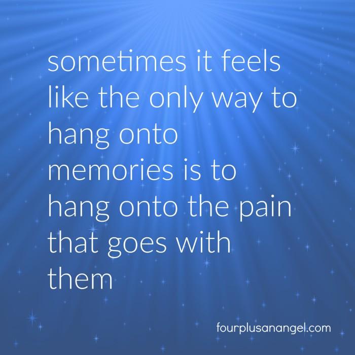 hanging onto memories
