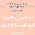 Great list of what to read next