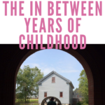 Parenting through the in between years of childhood