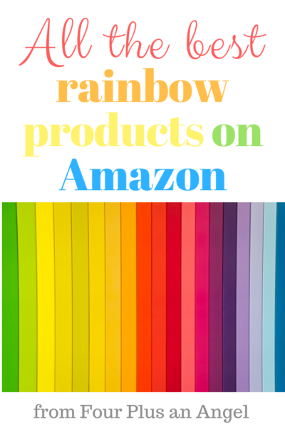 rainbow products on Amazon